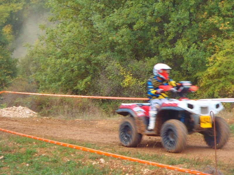 Course Endurance quad, Mazan octobre 2014 Course36