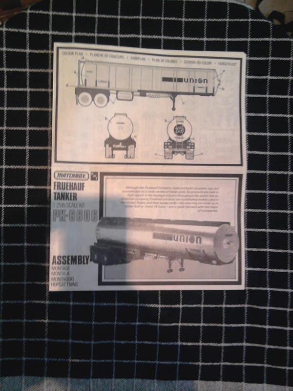 Matchbox/AMT Fruehauf Tank Trailer Union 1:25 02_11