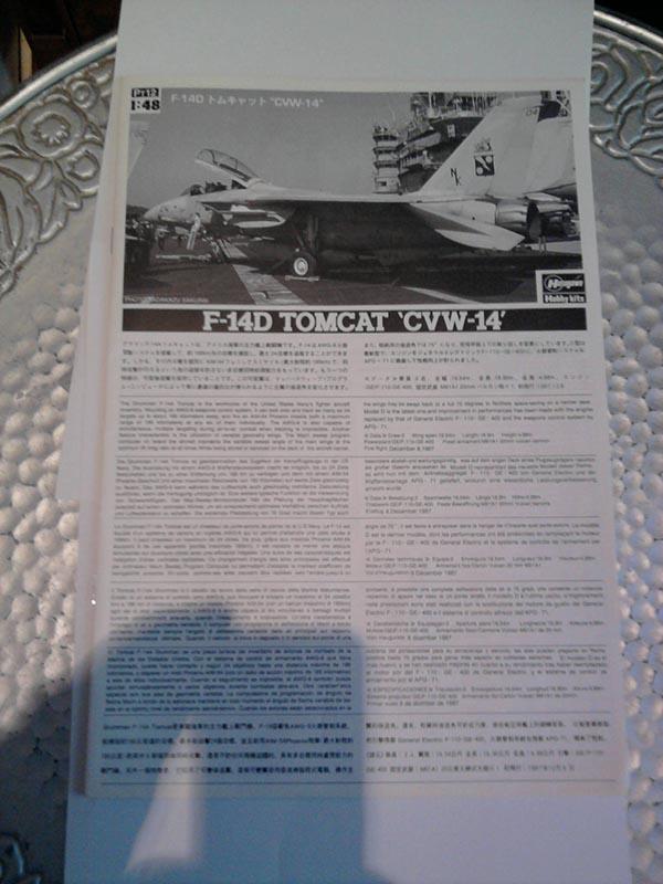 F-14D Tomcat 'Blacklions Last Cruise' / Hasegawa, 1:48 02_12