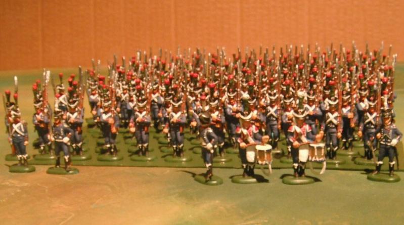 Bataillon d'infanterie légère française uniforme pré Bardin  Dscf1810