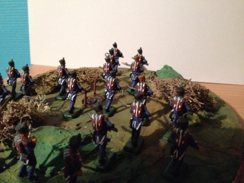 Bataillon d'infanterie légère française uniforme pré Bardin  Img_5915