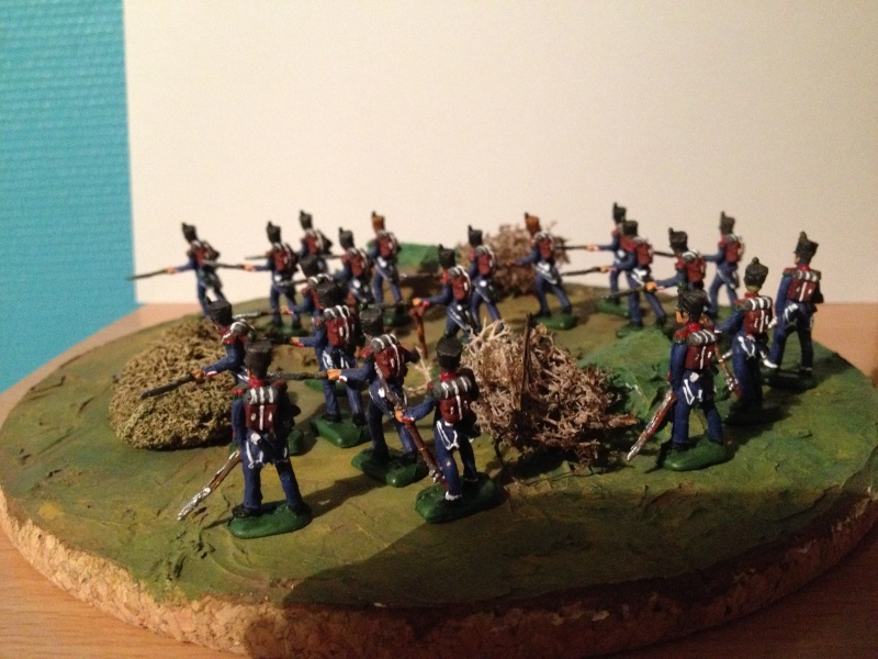 Bataillon d'infanterie légère française uniforme pré Bardin  Img_5916