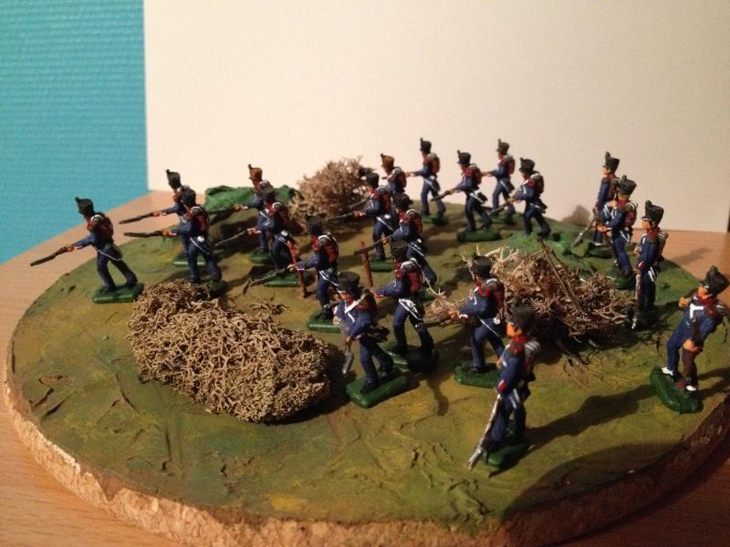 Bataillon d'infanterie légère française uniforme pré Bardin  Img_5917