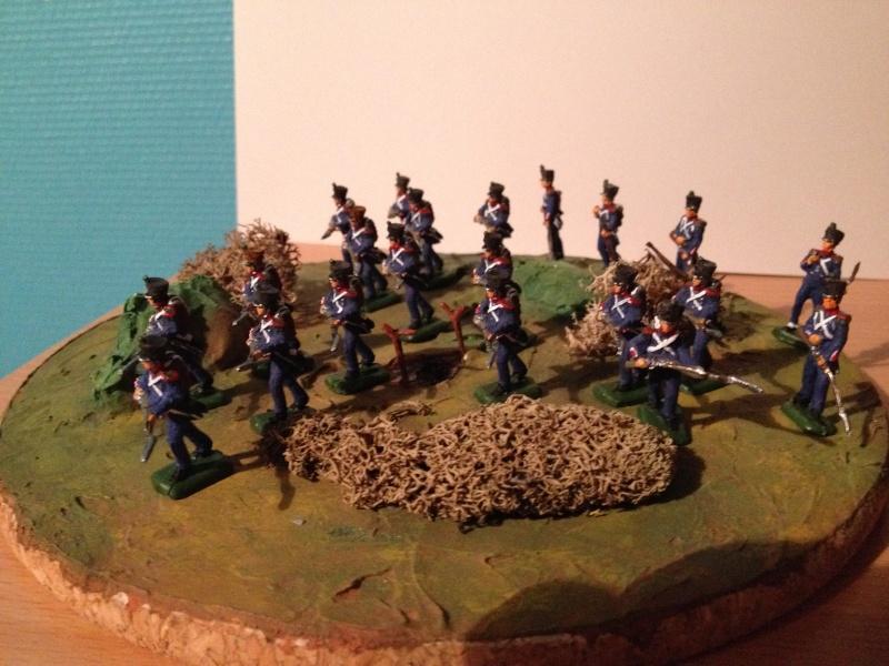 Bataillon d'infanterie légère française uniforme pré Bardin  Img_5918