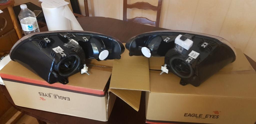 Phares et Feux arrières US complet pour S4 ( Town & go) à vendre 20201012