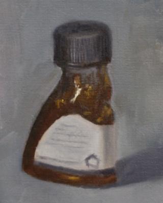 Painting #103:  Liquin medium Liquin11