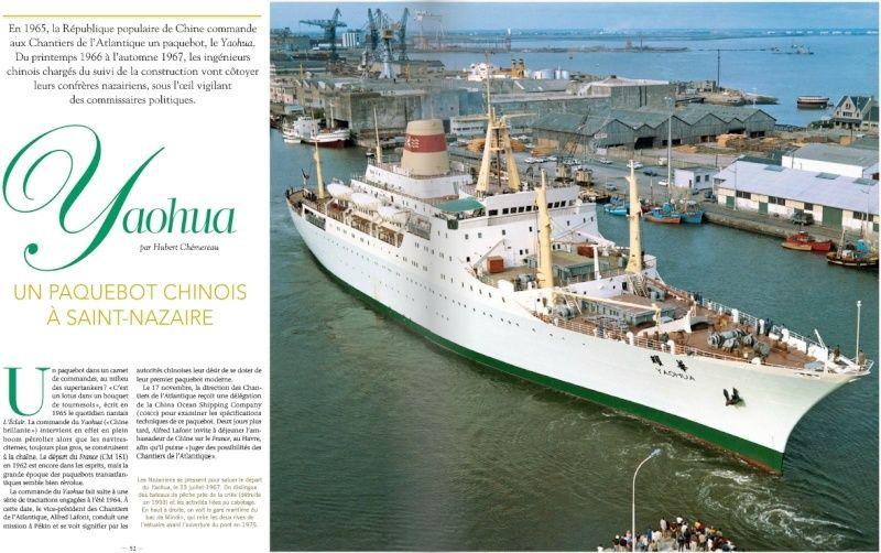 Samedi 29 novembre 2014 : Les chantiers navals de Saint-Nazaire et le Paquebot Yaohua Yaohua11