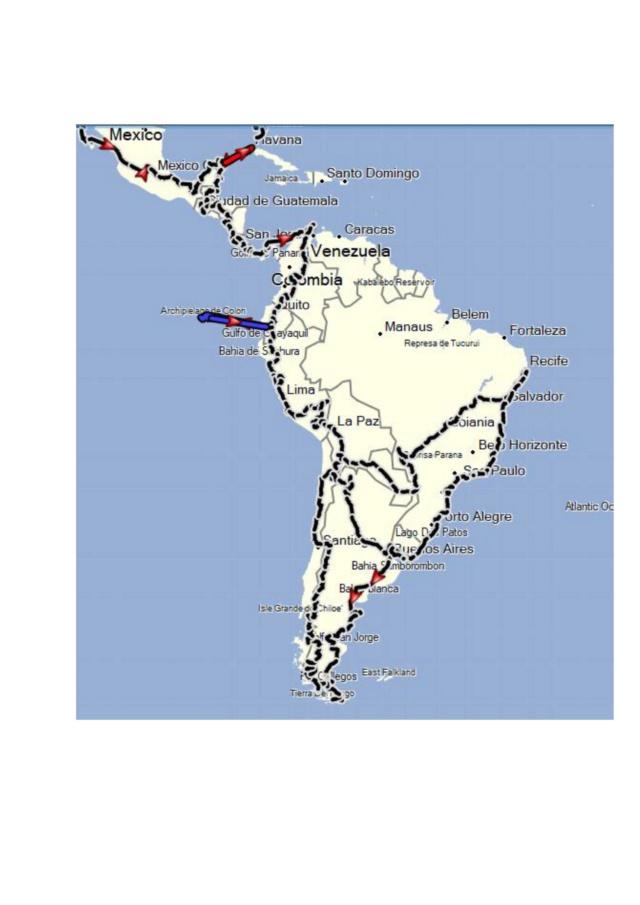 Notre itinéraire sur les 3 Amériques 000210