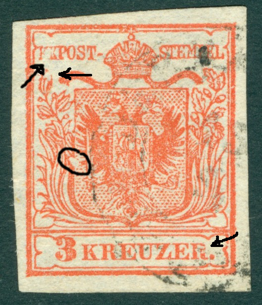 Die erste Österreichische Ausgabe 1850 - Seite 5 1850_311
