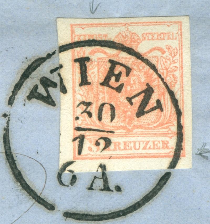 Die erste Österreichische Ausgabe 1850 - Seite 6 1857_w11