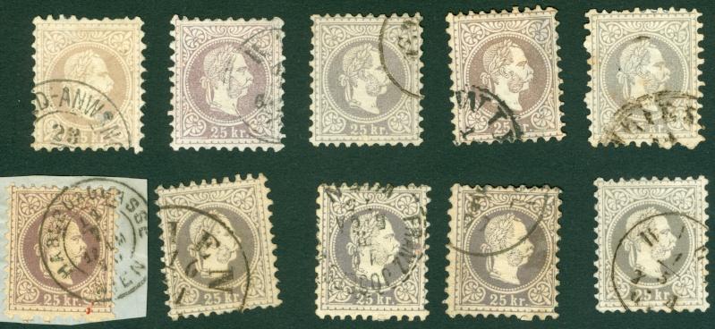 Freimarken-Ausgabe 1867 : Kopfbildnis Kaiser Franz Joseph I - Seite 6 1867_211