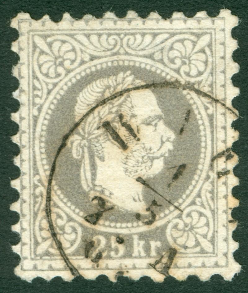 Freimarken-Ausgabe 1867 : Kopfbildnis Kaiser Franz Joseph I - Seite 6 1867_213