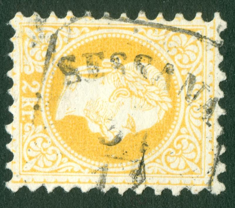 Freimarken-Ausgabe 1867 : Kopfbildnis Kaiser Franz Joseph I - Seite 6 1867_214