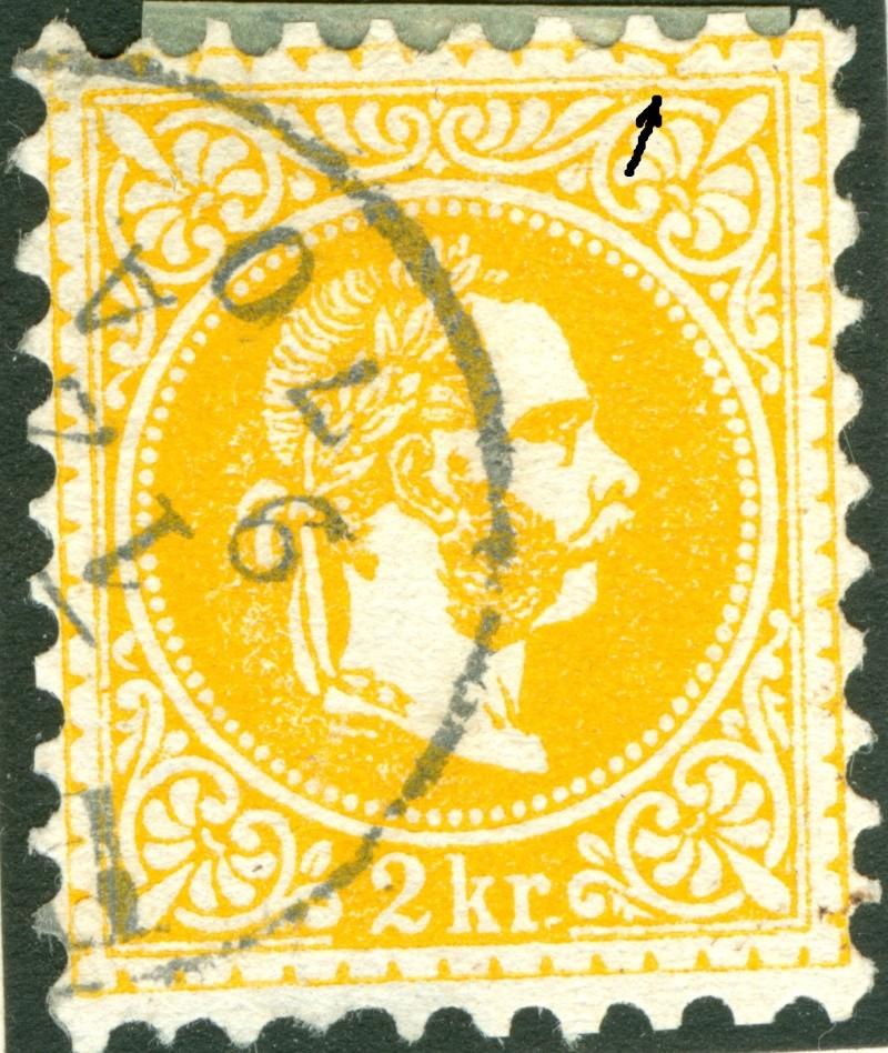 Freimarken-Ausgabe 1867 : Kopfbildnis Kaiser Franz Joseph I - Seite 6 1867_215