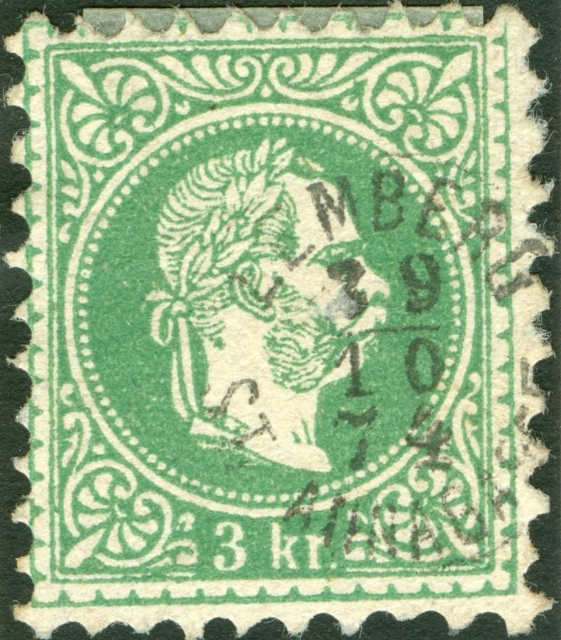 Freimarken-Ausgabe 1867 : Kopfbildnis Kaiser Franz Joseph I - Seite 6 1867_310