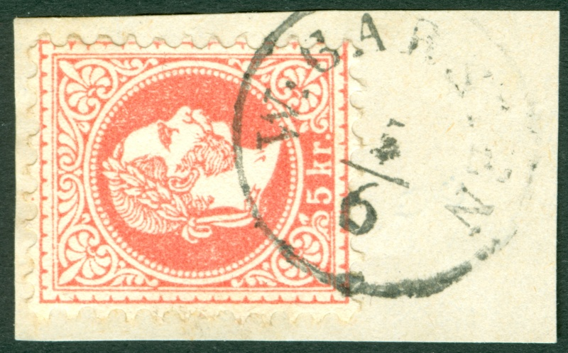 Freimarken-Ausgabe 1867 : Kopfbildnis Kaiser Franz Joseph I - Seite 6 1867_510