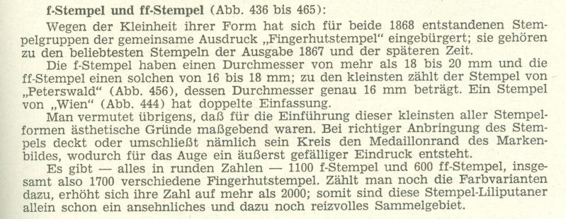 Fingerhutstempel auf Freimarkenausgabe 1867 1867_f10