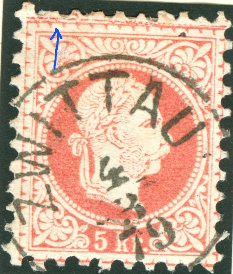 Freimarken-Ausgabe 1867 : Kopfbildnis Kaiser Franz Joseph I - Seite 7 1867_f14