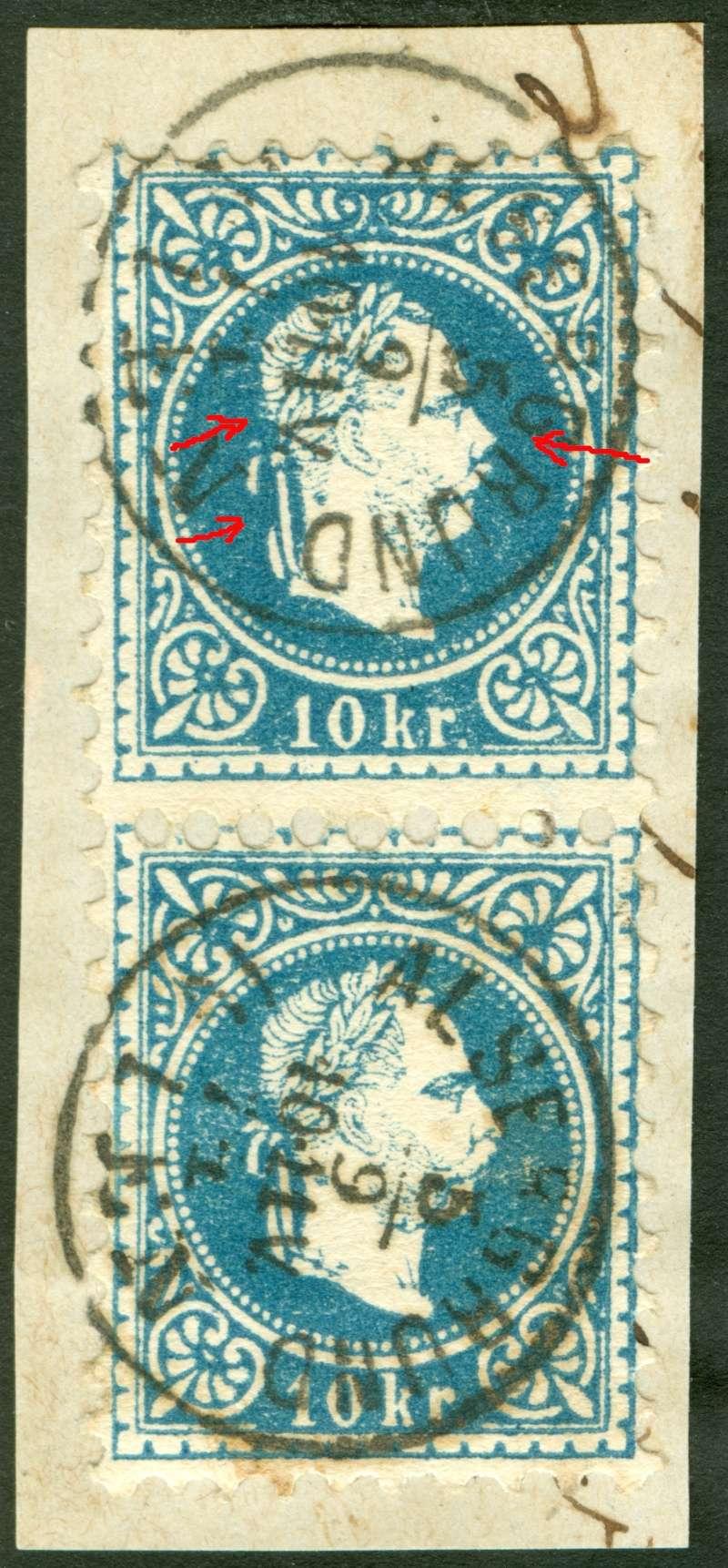 Freimarken-Ausgabe 1867 : Kopfbildnis Kaiser Franz Joseph I - Seite 7 1867_f17