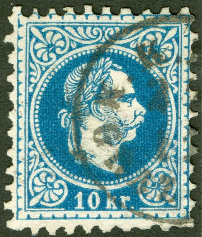 Freimarken-Ausgabe 1867 : Kopfbildnis Kaiser Franz Joseph I - Seite 7 1867_g11
