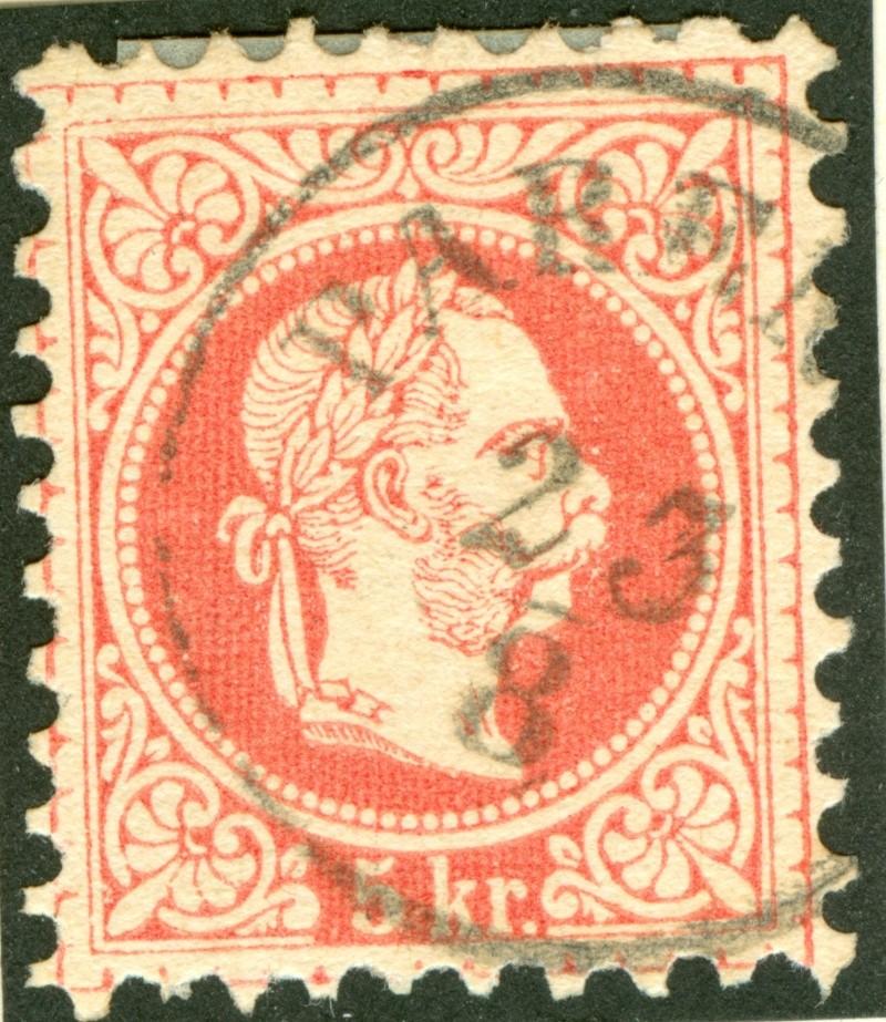 Freimarken-Ausgabe 1867 : Kopfbildnis Kaiser Franz Joseph I - Seite 7 1867_g13