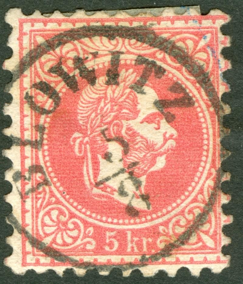 Freimarken-Ausgabe 1867 : Kopfbildnis Kaiser Franz Joseph I - Seite 7 1867_g15