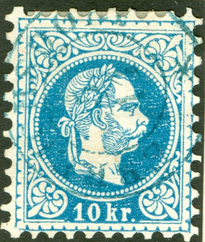 Freimarken-Ausgabe 1867 : Kopfbildnis Kaiser Franz Joseph I - Seite 9 1867_g17