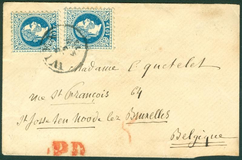 Freimarken-Ausgabe 1867 : Kopfbildnis Kaiser Franz Joseph I - Seite 6 1873_f10