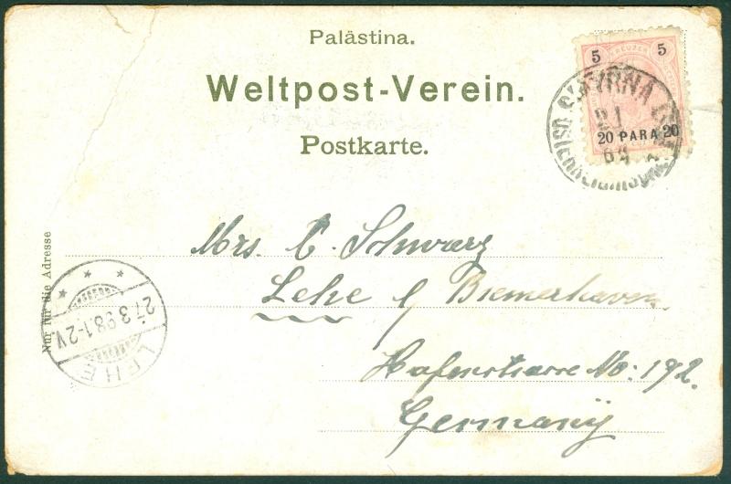 Österreich - Kreta und Levante Postka10