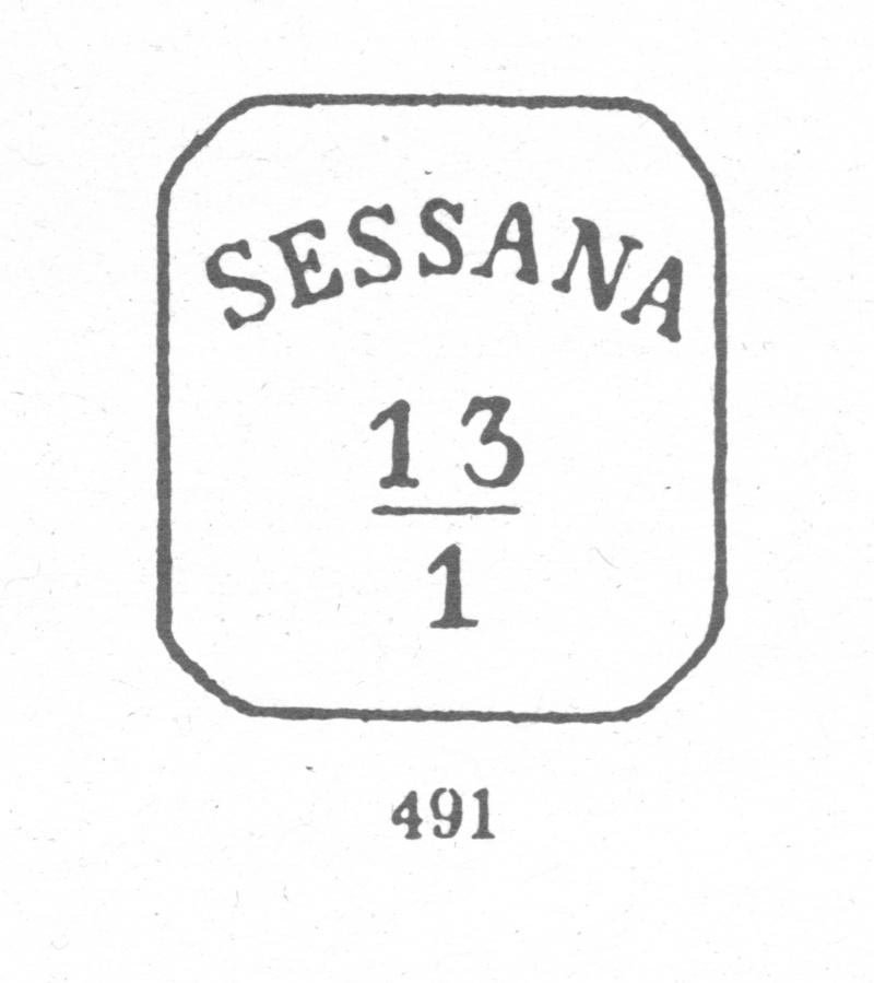 Freimarken-Ausgabe 1867 : Kopfbildnis Kaiser Franz Joseph I - Seite 6 Sesana10