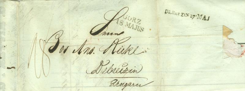 Vorphilatelie Österreich  -   Briefe aus der Vormarkenzeit - Seite 2 Voorph10