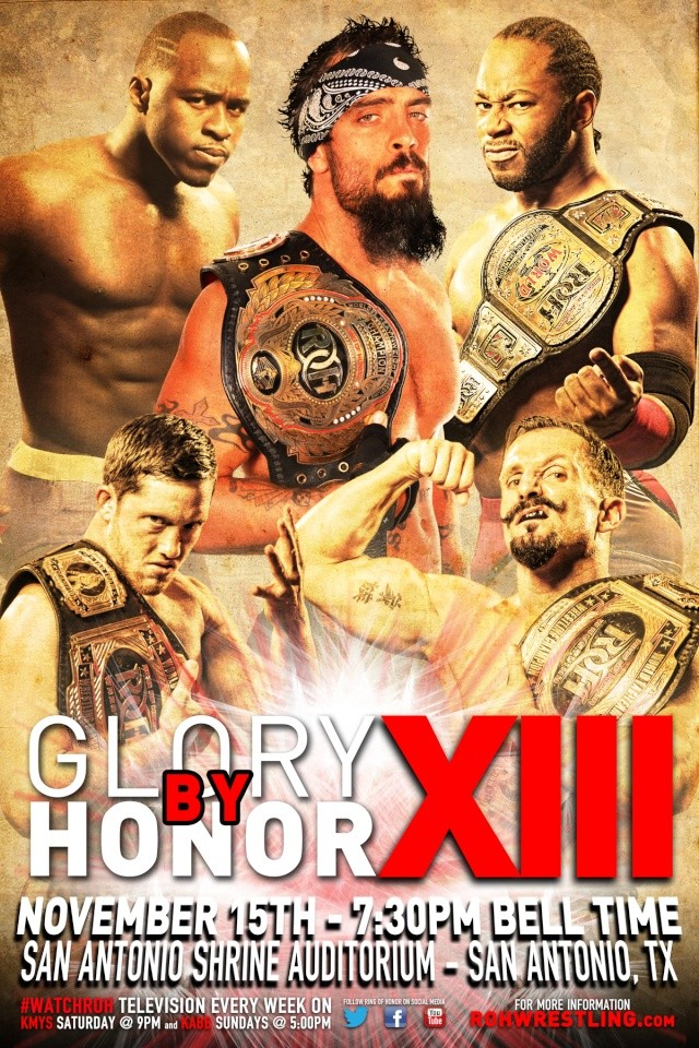 ROH Glory By Honor XIII du 15/11/2014 11151410