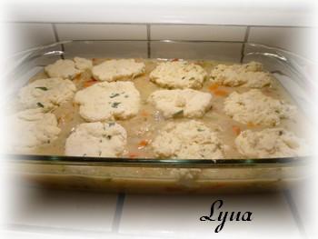 Ragoût de poulet avec dumplings au fromage et ciboulette Ragout11