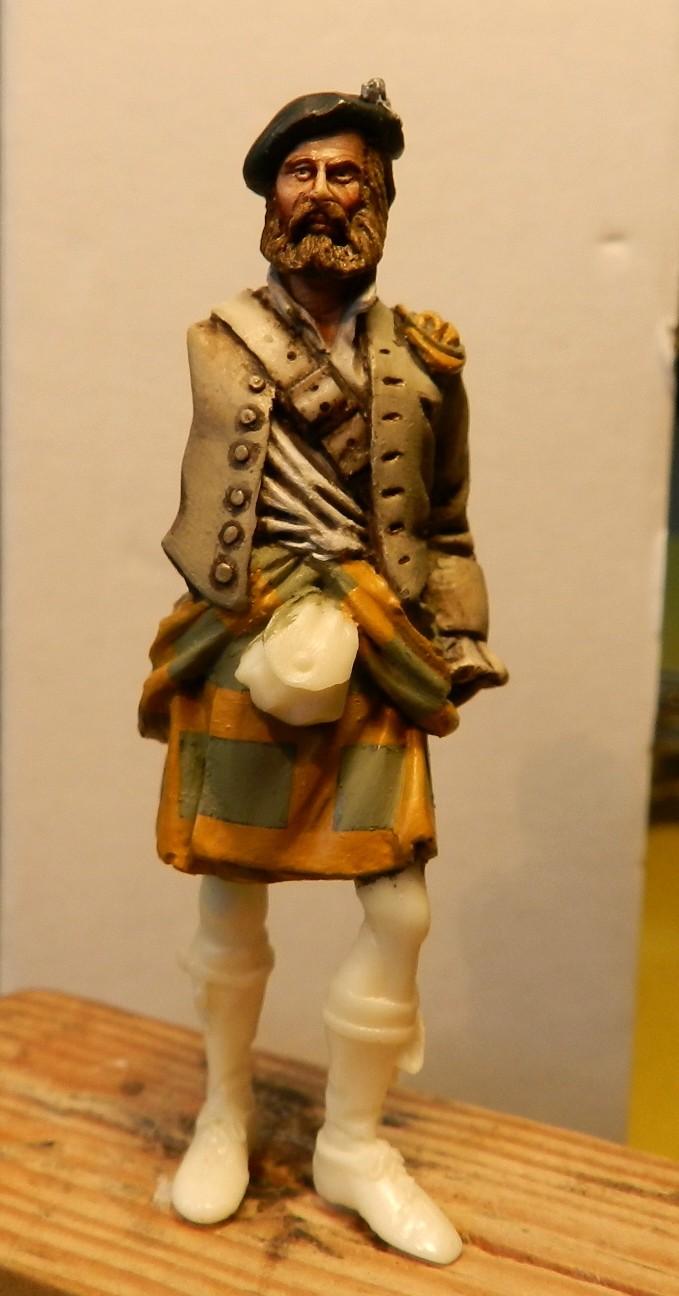 Highlands clansman (54mm) 00411