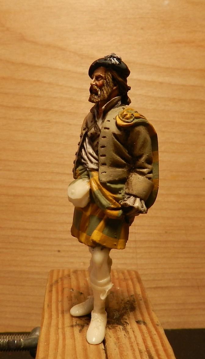 Highlands clansman (54mm) 00810