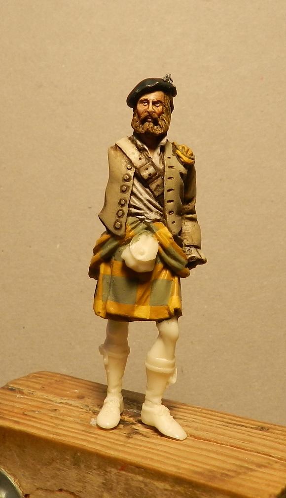 Highlands clansman (54mm) 01810