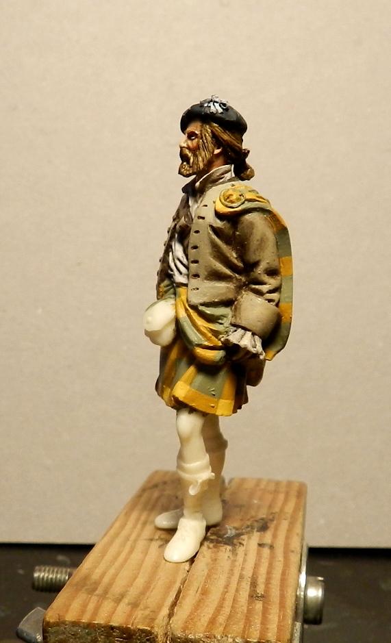 Highlands clansman (54mm) 02210