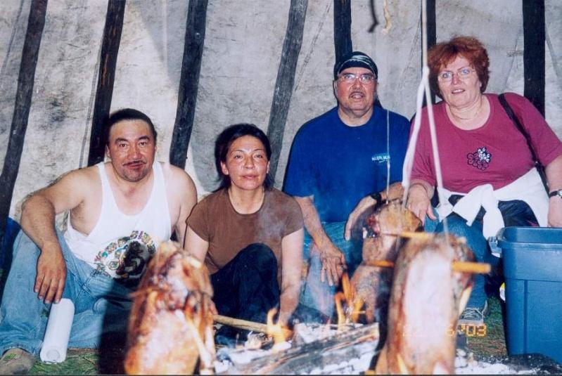 Cuisine d'un jambon de sanglier au fond des bois Sans_t11