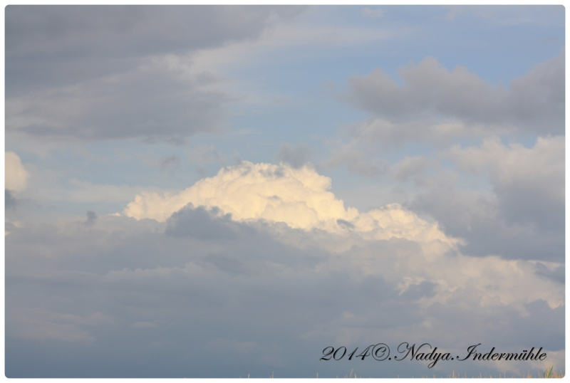 Les nuages Cadre601