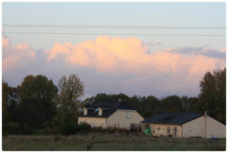 Les nuages Cadre603