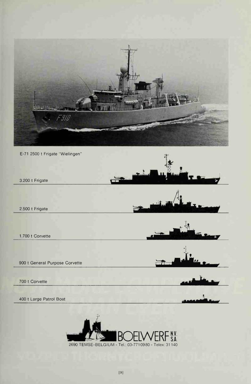 Boelwerf - Page Jane's Fighting Ships 1984 Boelwe10