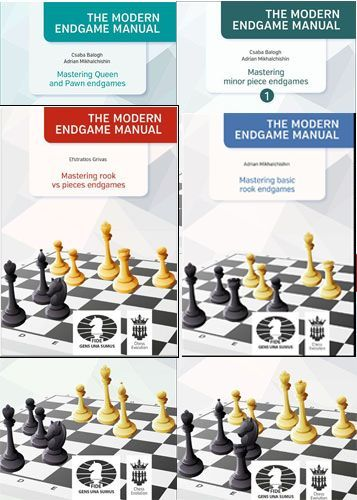The Modern Endgame Manual Vol. 1-6 €133.90 4244b_10