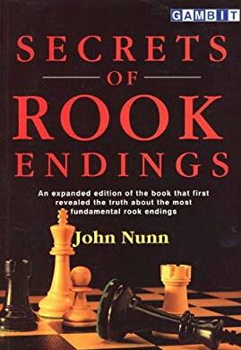 Dr John Nunn, top-class SECRETS OF ROOK ENDINGS (John Nunn) 51sesx11