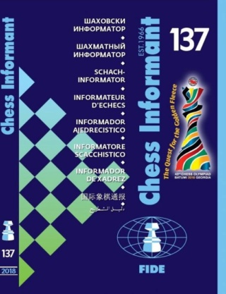 CHESS INFORMANT'S 137th ADVENTURE – The Quest for the Golden Fleece 787910