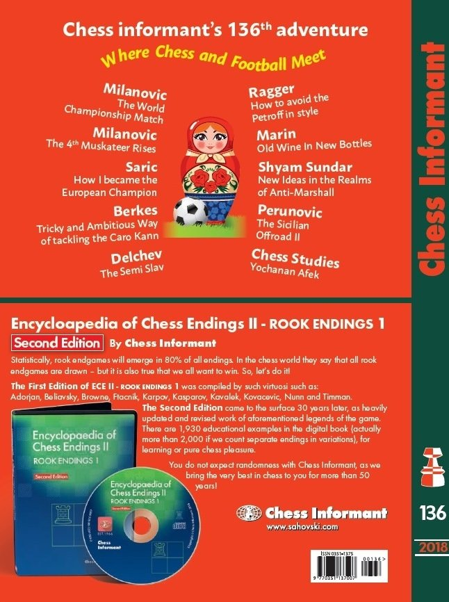Chess Informant  136 CD  85100712