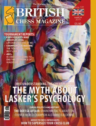 British Chess Magazine - Issue 139, March 2019 Bcm_co10