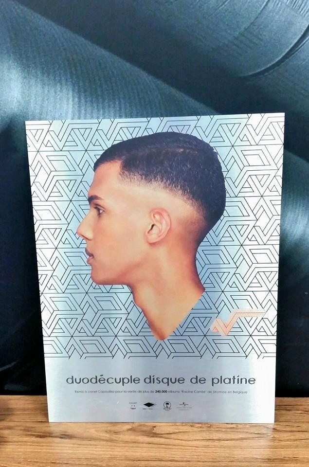 14/11/2014  Un Duodisque de platine pour stromae en Belgique !  10372710
