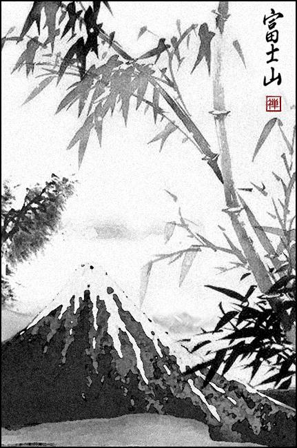L'aquarelle d'Ojiisan Fuji10