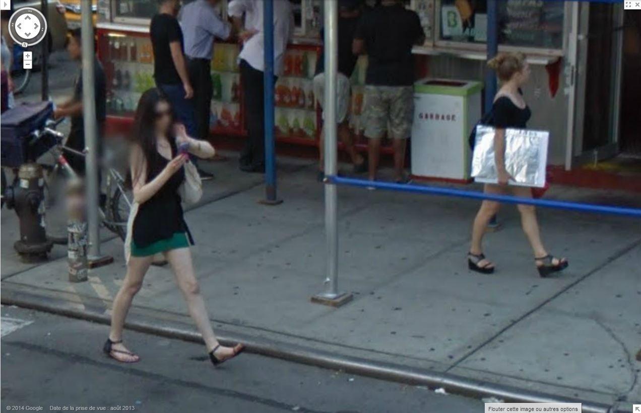 """STREET VIEW : embrassez-vous ... vous êtes photographiés ! (Répliques de la photo """"Le baiser de l'Hôtel de Ville"""" de Robert Doisneau) Embras11"""