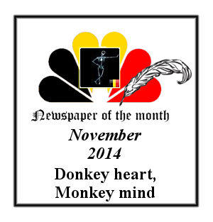Newspaper of the Month/Year archive. Badge_10